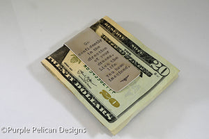Graduation Money Clip - Go Confidently In The Direction Of Your Dreams...