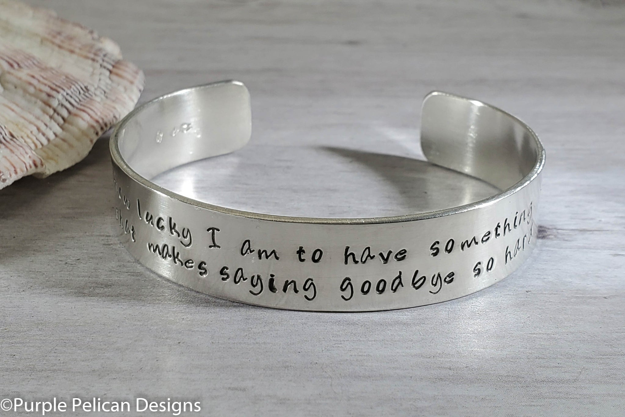 Pooh Quote Bracelet How Lucky I Am To Have Something That Makes