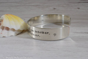 Pooh quote bracelet - If there ever comes a day... - Purple Pelican Designs