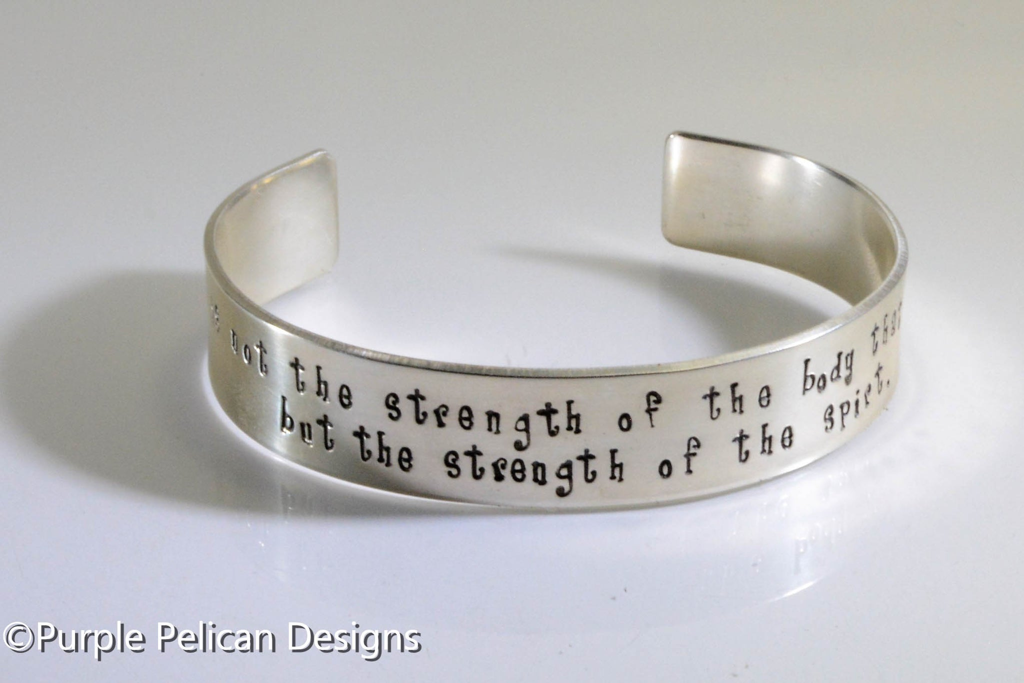 F K Cancer Bracelet It Is Not The Strength Of The Body