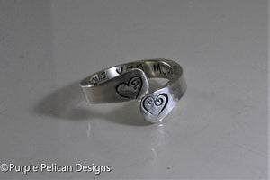 Secret Message Ring - Personalized