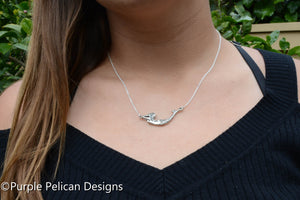Mermaid Necklace - Solid Sterling Silver