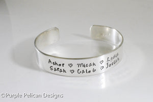 Mothers Bracelet - Personalized with children's names