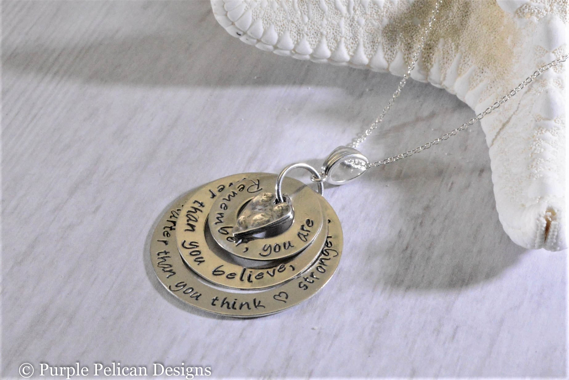 Winnie The Pooh Quote Pendant You Are Braver Than You Believe