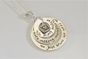 We Didn't Realise We Were Making Memories...Pooh Quote Necklace - Purple Pelican Designs