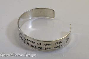 Dr. Seuss graduation quote bracelet - You're off to great places...