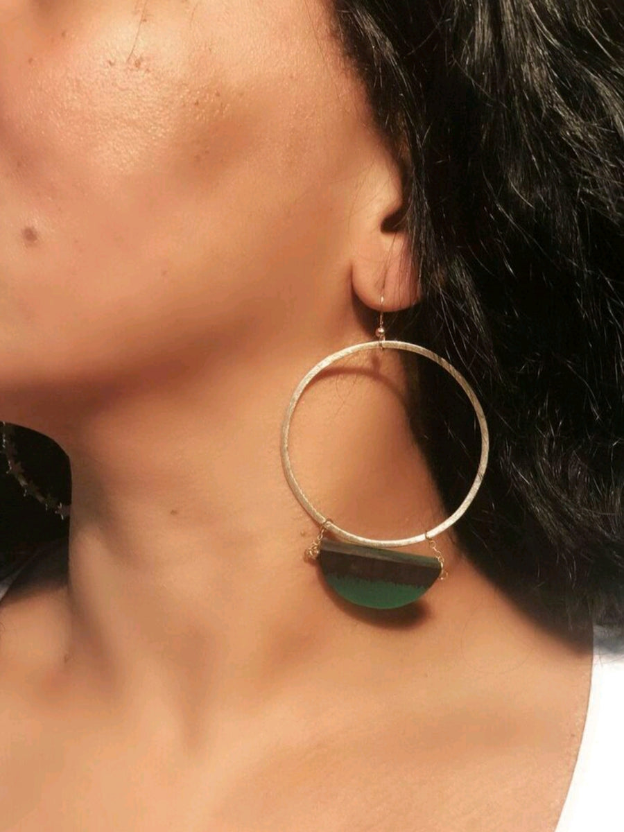The Esmeralda Earrings