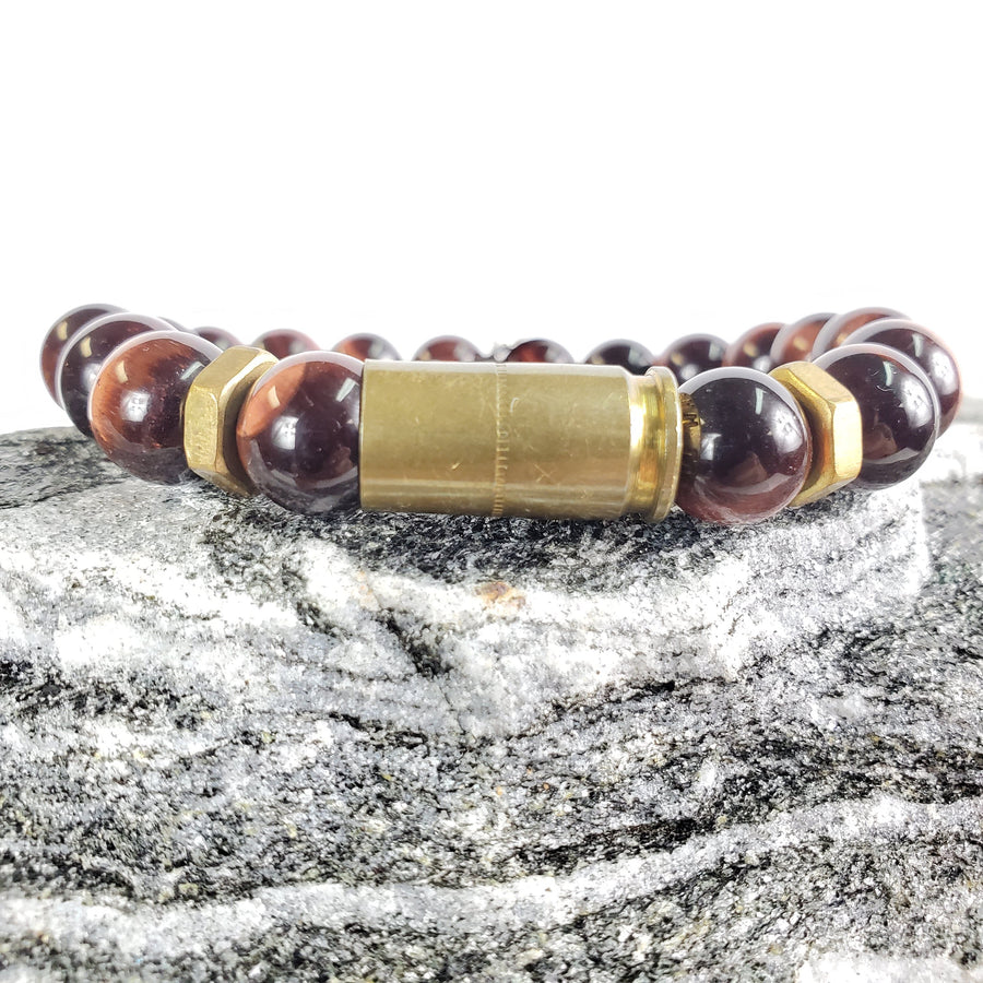 Red Tiger's Eye Stretch Bracelet