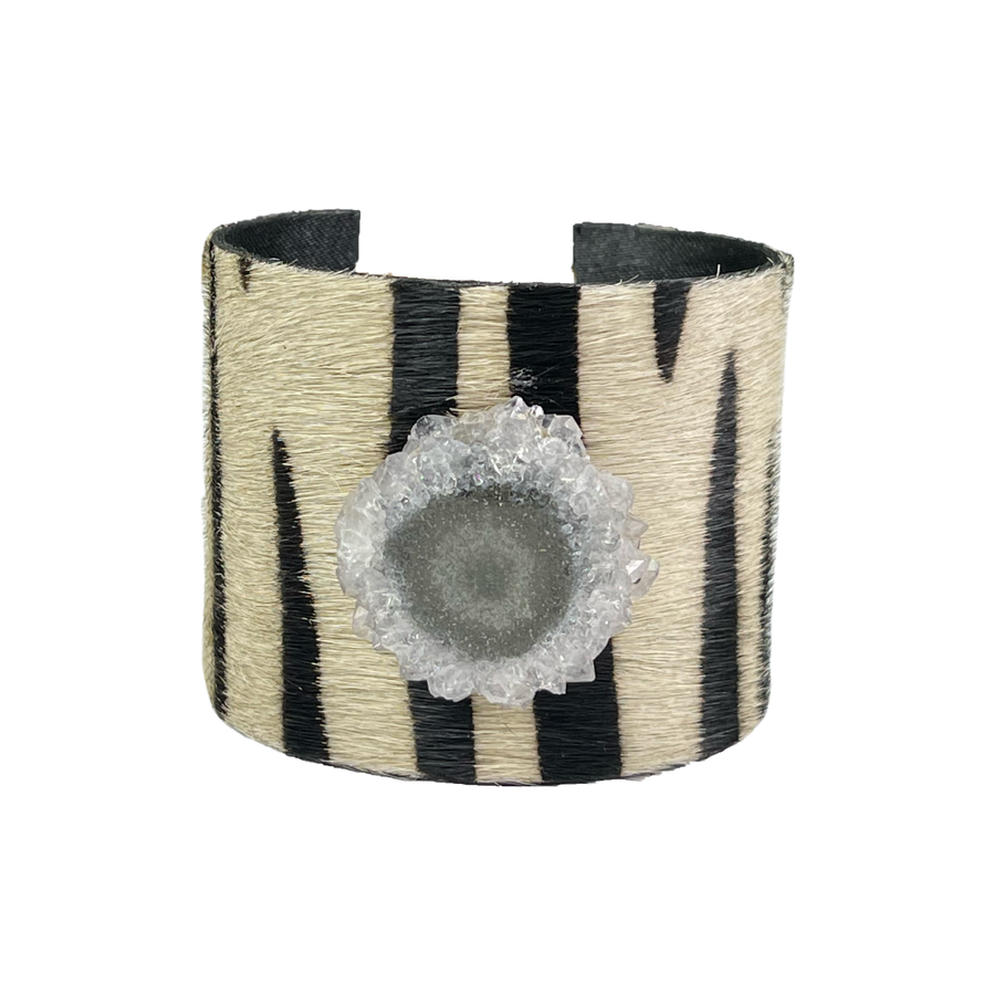 The Chasity Black and White Cuff Collection
