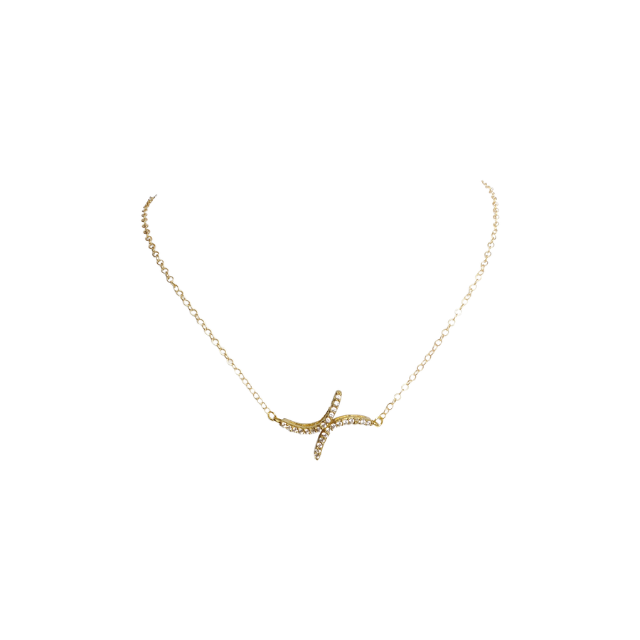 The Taliah Pavé Necklace Collection
