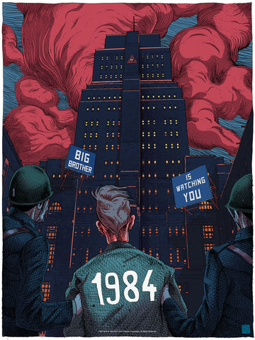 "New Release: ""1984"" by Olivier Bonhomme"