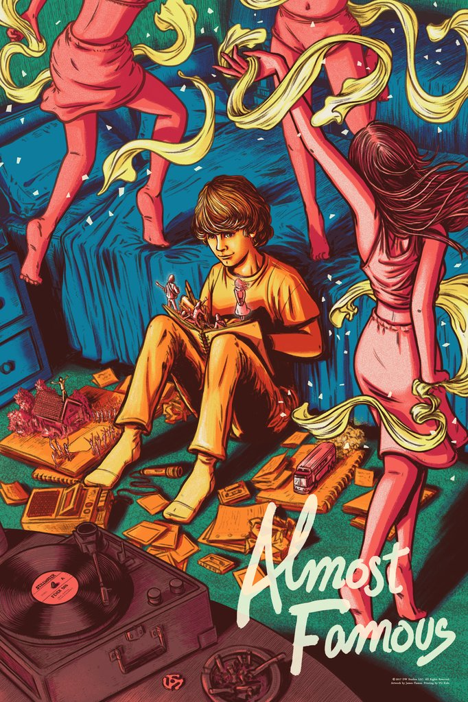 "New Release: ""Almost Famous"" by James Flames"