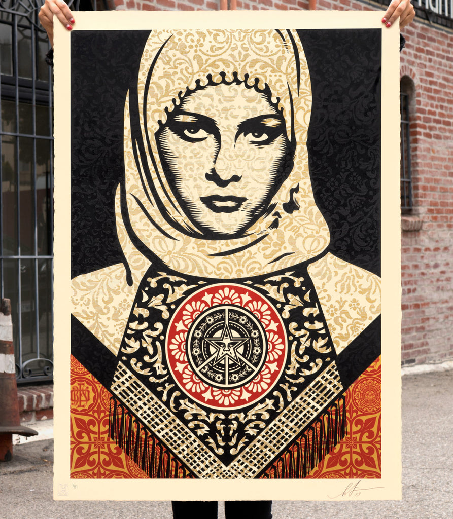 "New Release: ""Arab Woman"" by Shepard Fairey"