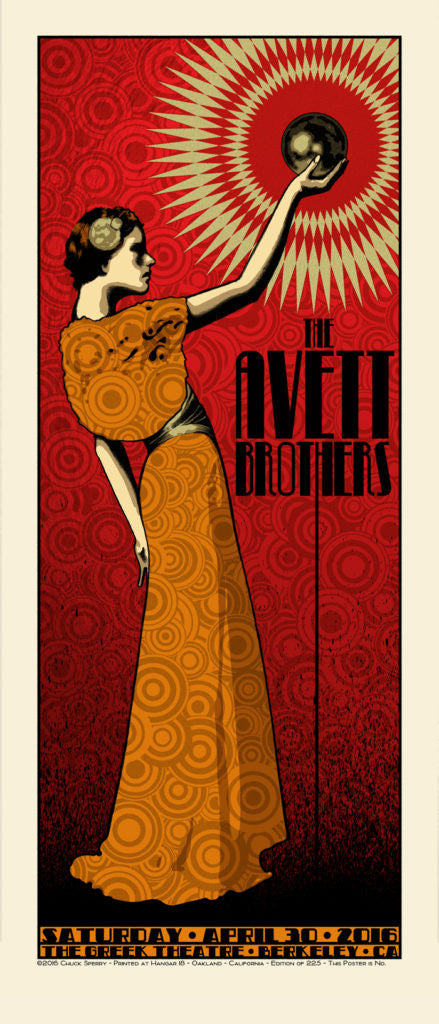 "New Release: ""The Avett Brothers Greek Theatre Berkeley"" by Chuck Sperry"