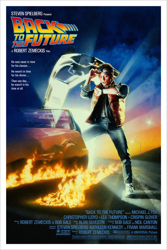 "New Release: ""Back to the Future"" by Drew Struzan"