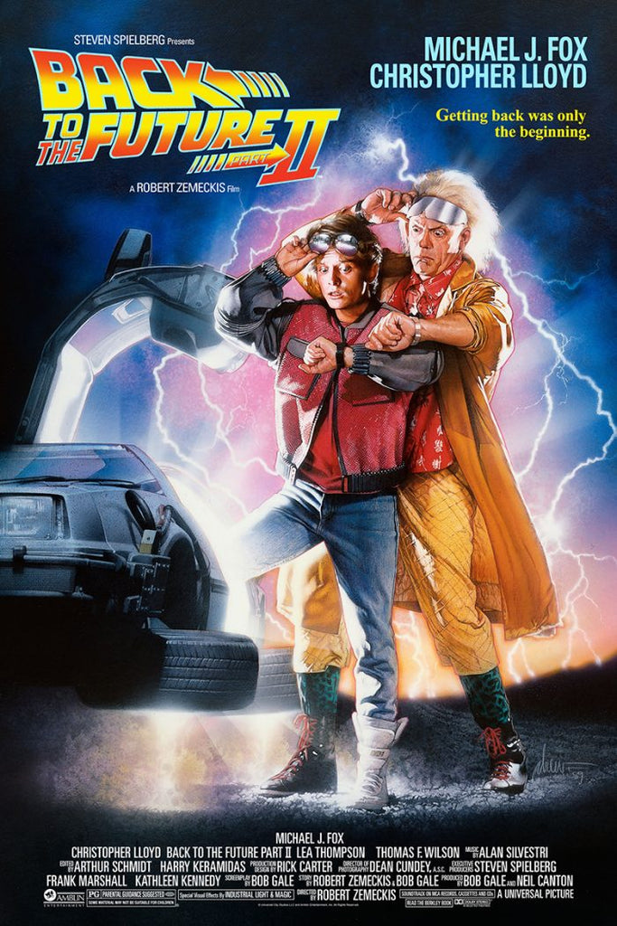 "New Release: ""Back to the Future Part II"" by Drew Struzan"