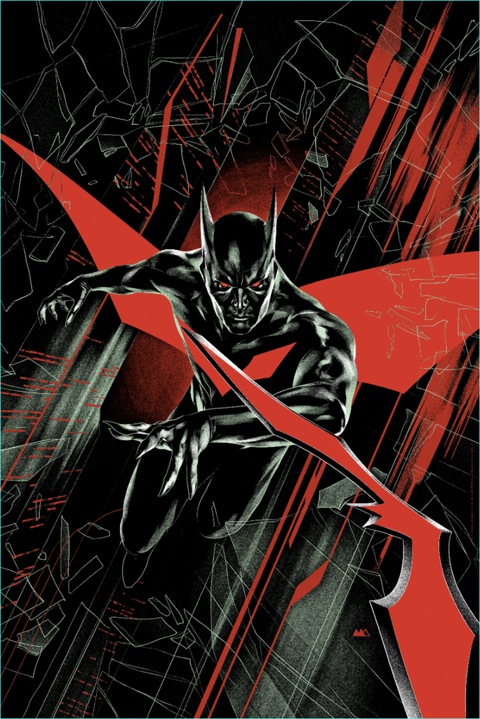 "New Release: ""Batman Beyond Rebirth #1 Cover"" by Martin Ansin"