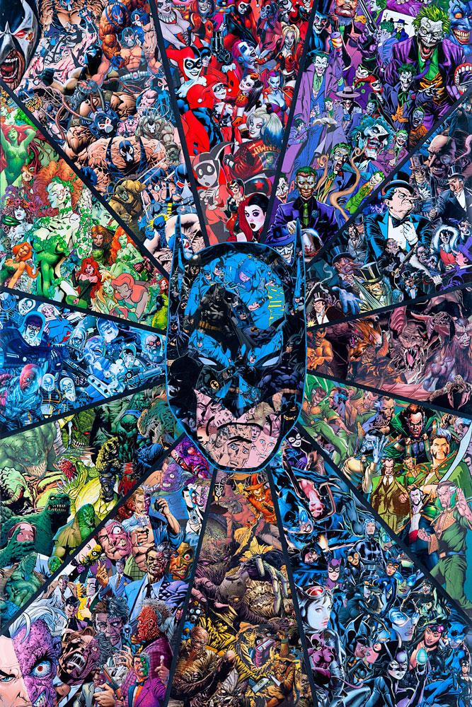 "New Release: ""Batman Villians"" by Mr Garcin"