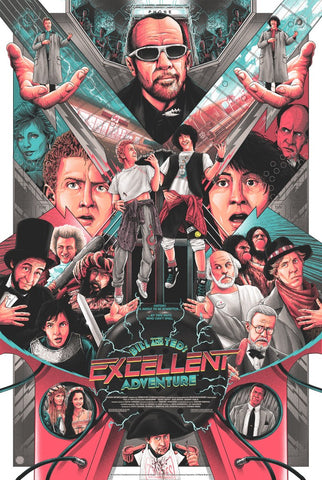 "New Release: ""Bill & Ted's Excellent Adventure"" by Matt Ryan Tobin"