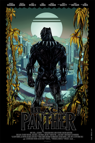 "New Release: ""Black Panther"" by Denys Cowan"