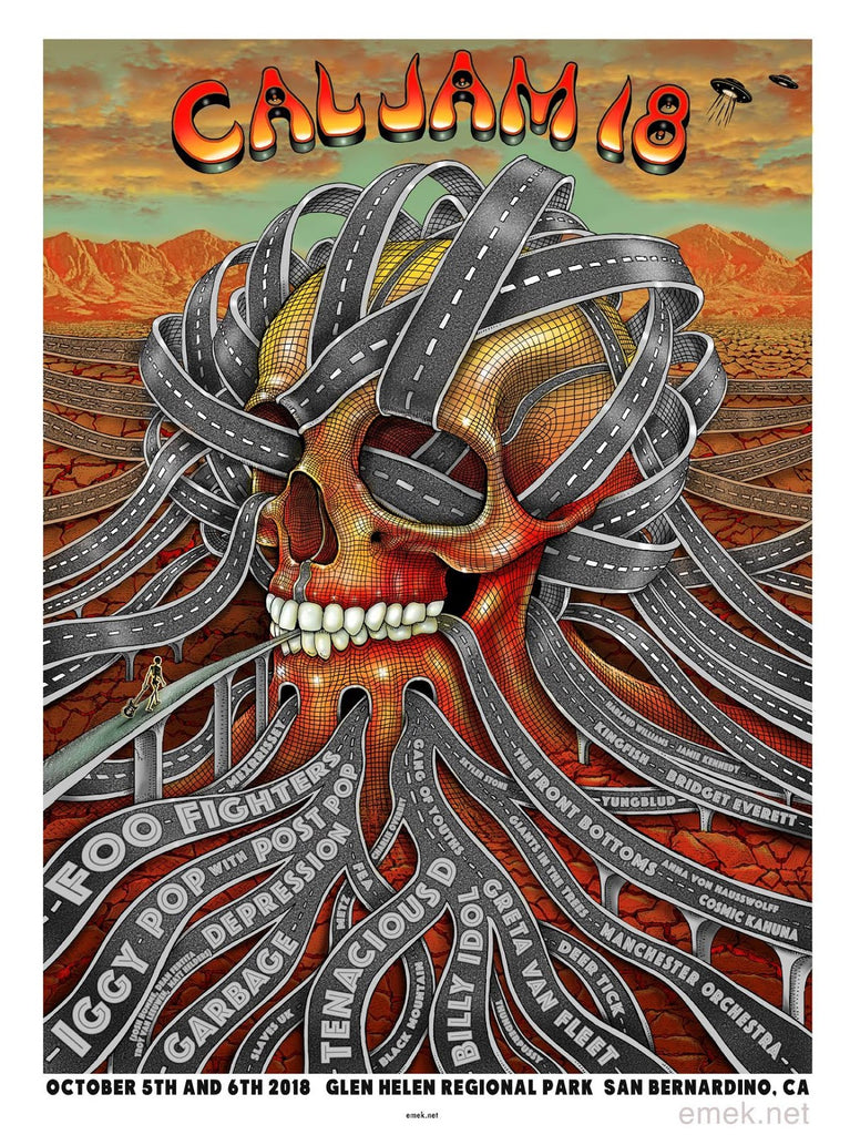 "New Release: ""Cal Jam 2018"" by EMEK"