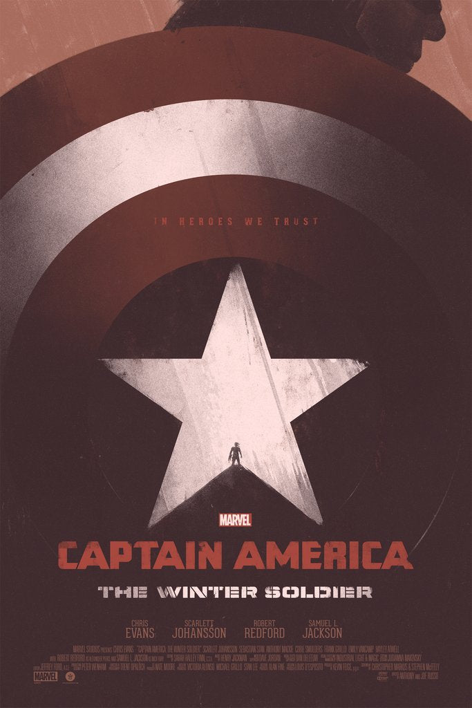"New Release: ""Captain America: The Winter Soldier"" by Patrik Svensson"