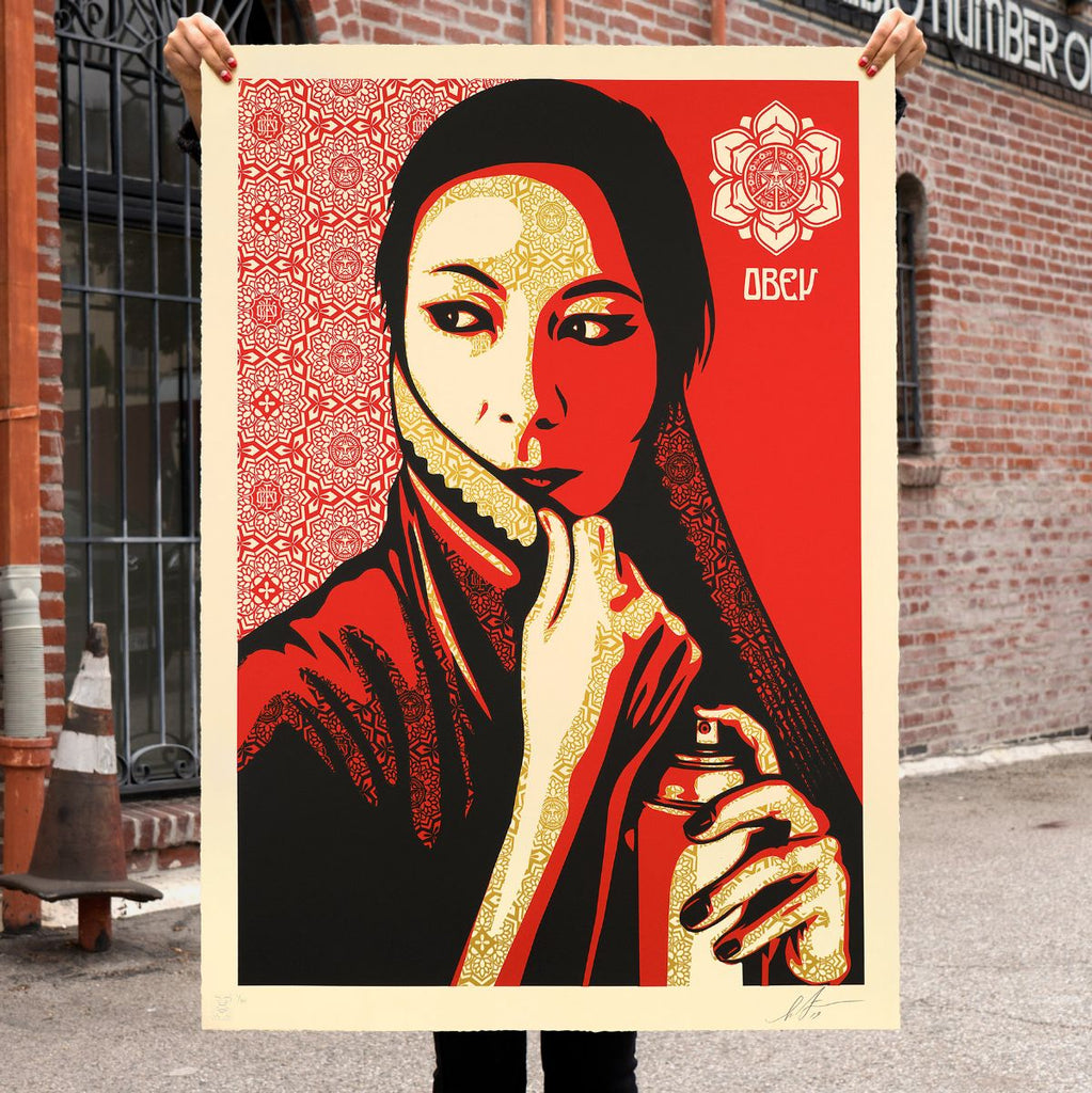 "New Release: ""Commanda"" by Shepard Fairey"