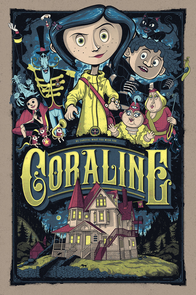 "New Release: ""Coraline"" by Graham Erwin"