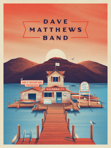 "New Release: ""Dave Matthews Band Gilford 2018"" by DKNG"