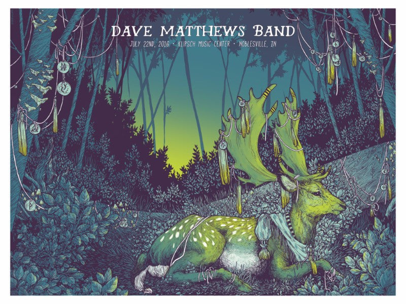 "New Release: ""Dave Matthews Band Noblesville 2016"" by Erica Williams"
