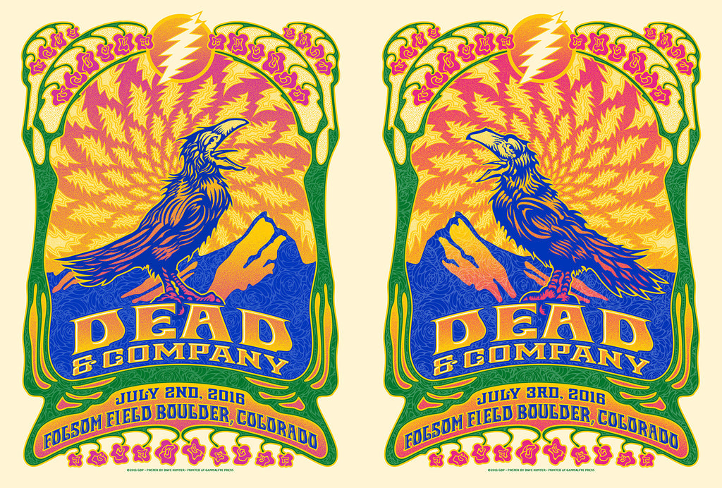 "New Release: ""Dead & Company Boulder 2016"" by Dave Hunter"