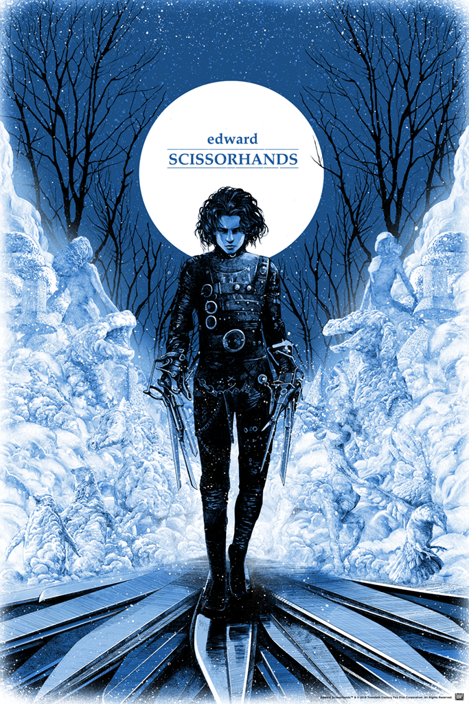 "New Release: ""Edward Scissorhands"" by Shan Jiang"