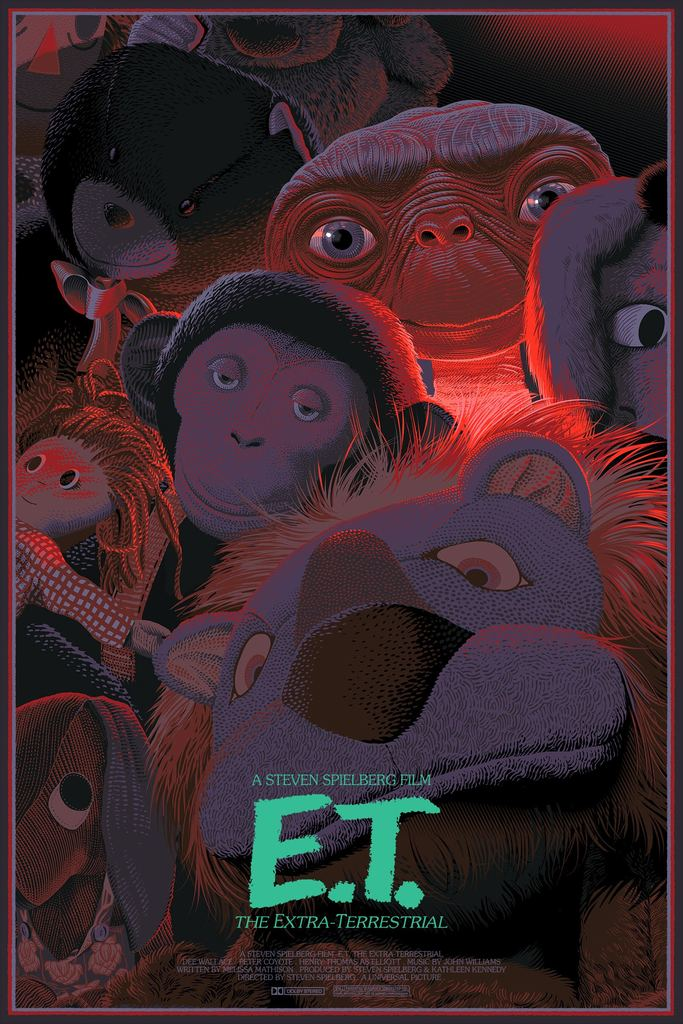 "New Release: ""E.T. the Extra-Terrestrial"" by Laurent Durieux"