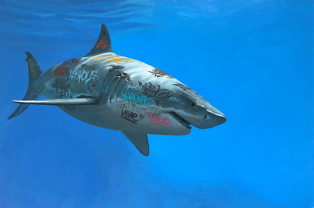 "New Release: ""Frenzy"" by Josh Keyes"