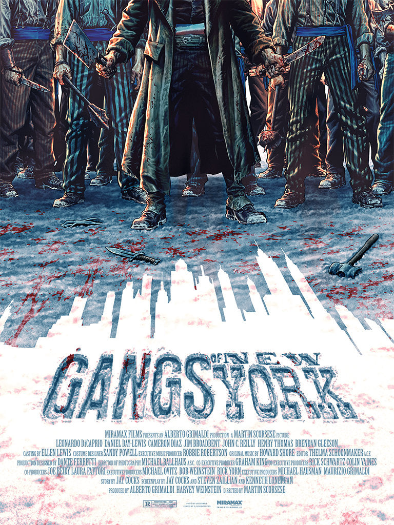 "New Release: ""Gangs of New York"" by Lee Bermejo"