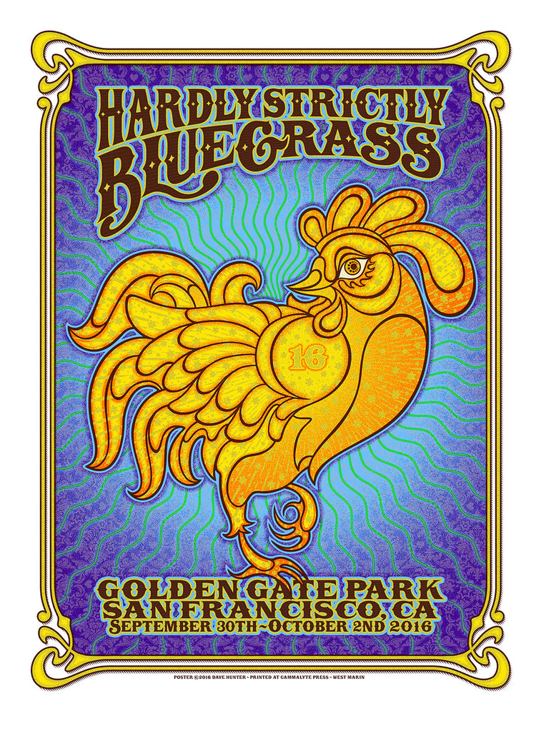 "New Release: ""Hardly Strictly Bluegrass 2016"" by Dave Hunter"