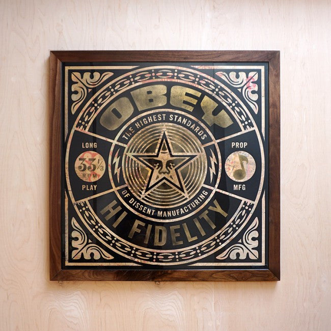 "New Release: ""Hi Fidelity"" by Shepard Fairey"