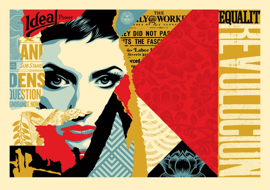 "New Release: ""Ideal Power"" by Shepard Fairey"