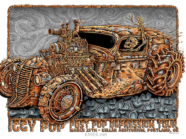 "New Release: ""Rust Rocket"" by EMEK"