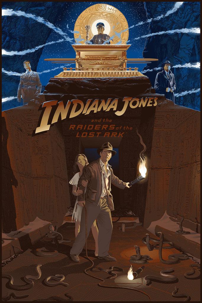 "New Release: ""Indiana Jones and the Raiders of the Lost Ark"" by Laurent Durieux"