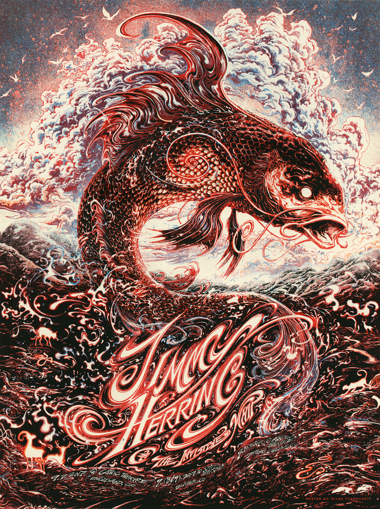 "New Release: ""Jimmy Herring & The Invisible Whip Fall Tour 2017"" by Miles Tsang"