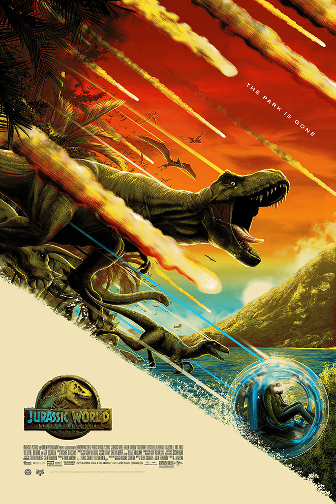 "New Release: ""Jurassic World: Fallen Kingdom"" by Mike Saputo"