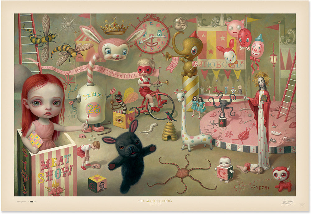 "New Release: ""Magic Circus"" by Mark Ryden"