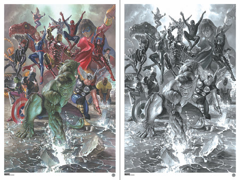 "New Release: ""Marvel Legacy #1"" by Alex Ross"