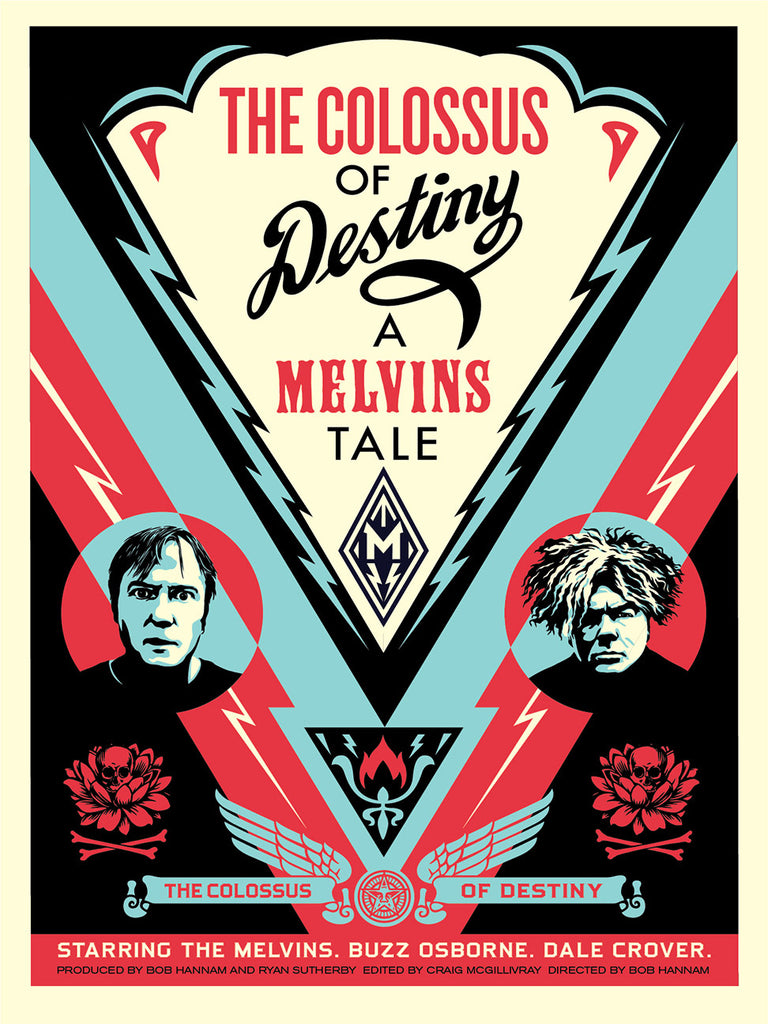 "New Release: ""Melvins: The Colossus of Destiny"" by Shepard Fairey"
