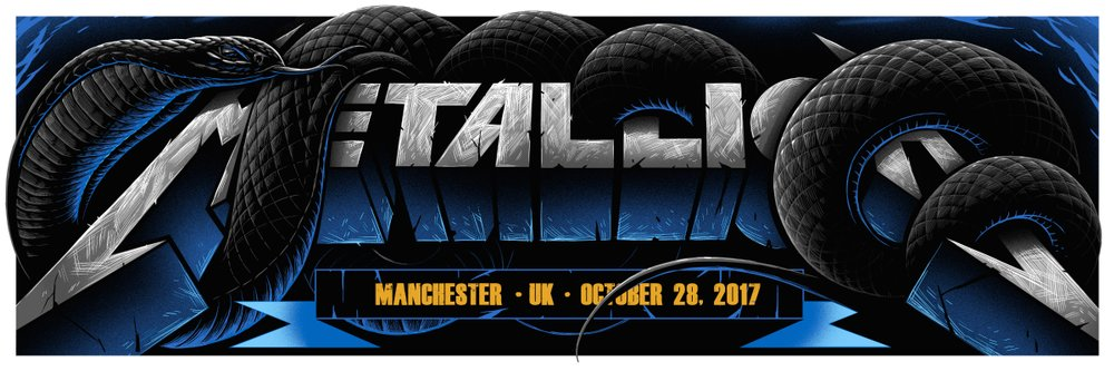 "New Release: ""Metallica Manchester 2017"" by Maxx242"
