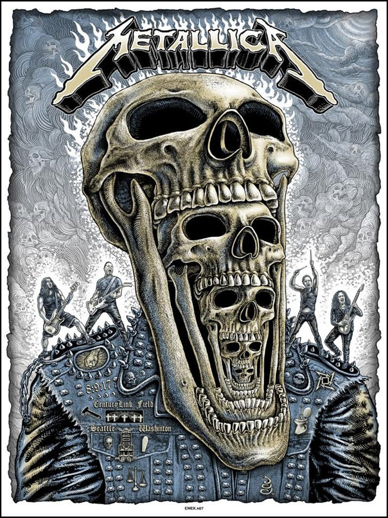 "New Release: ""Metallica Seattle 2017"" by EMEK"