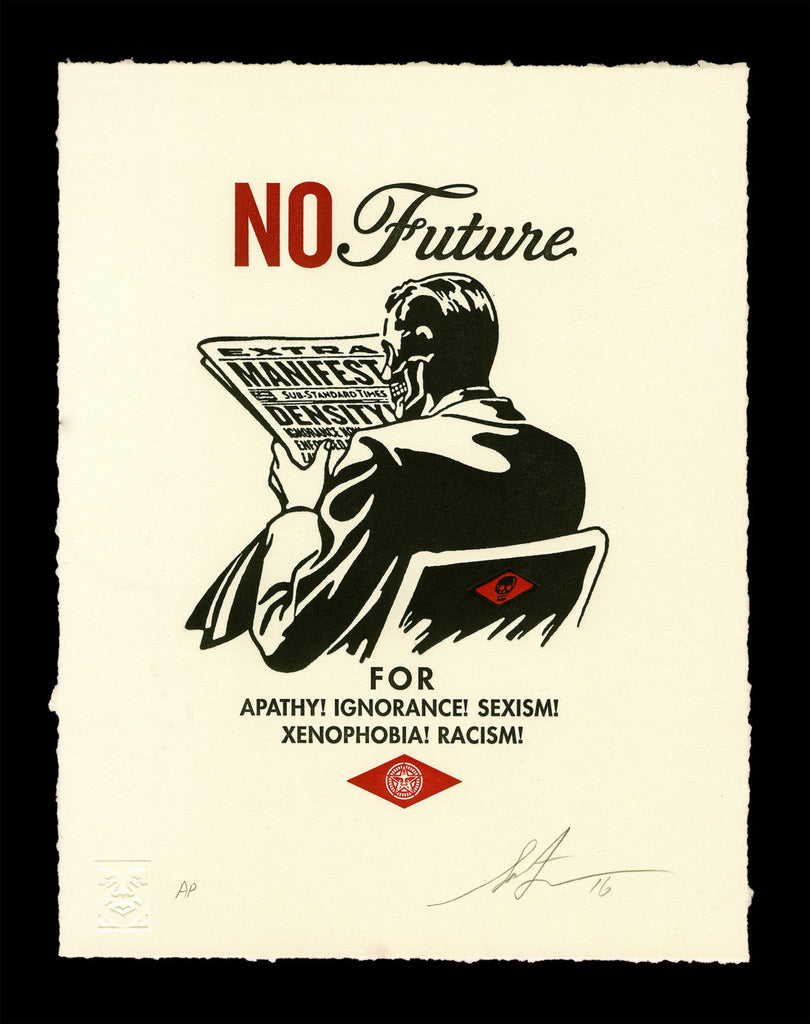 "New Release: ""No Future"" by Shepard Fairey"