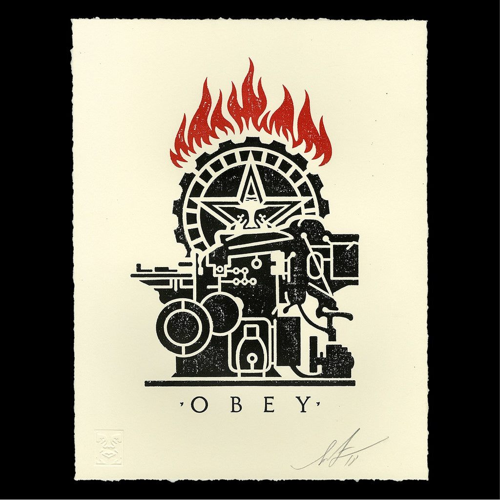 "New Release: ""Obey Printing Press"" by Shepard Fairey"