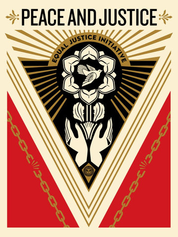 "New Release: ""Peace & Justice Summit"" by Shepard Fairey"